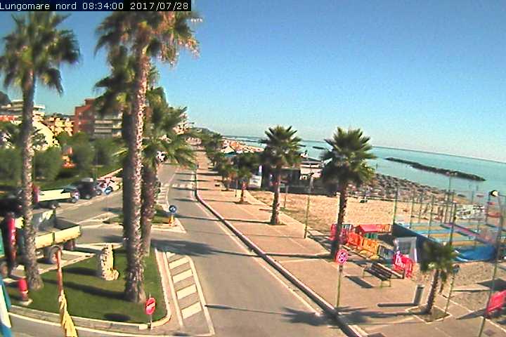 Webcam Vista Panoramica Cupra Marittima - Provincia di Ascoli Piceno